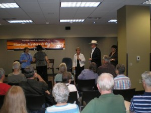 We had a good crowd at Tempe Public Library last month