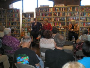 Me, Barbara Peters, Betty Webb at Poisoned Pen